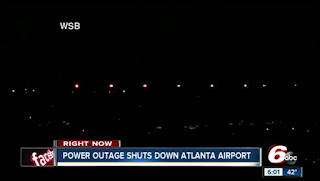 Georgia Power said that it expects power to be fully restored by midnight at the Hartsfield-Jackson Atlanta International Airport