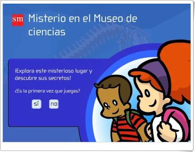 """""""Misterio en el Museo de Ciencias"""" (3º de Primaria Ciencias Sociales y Ciencias Naturales)"""