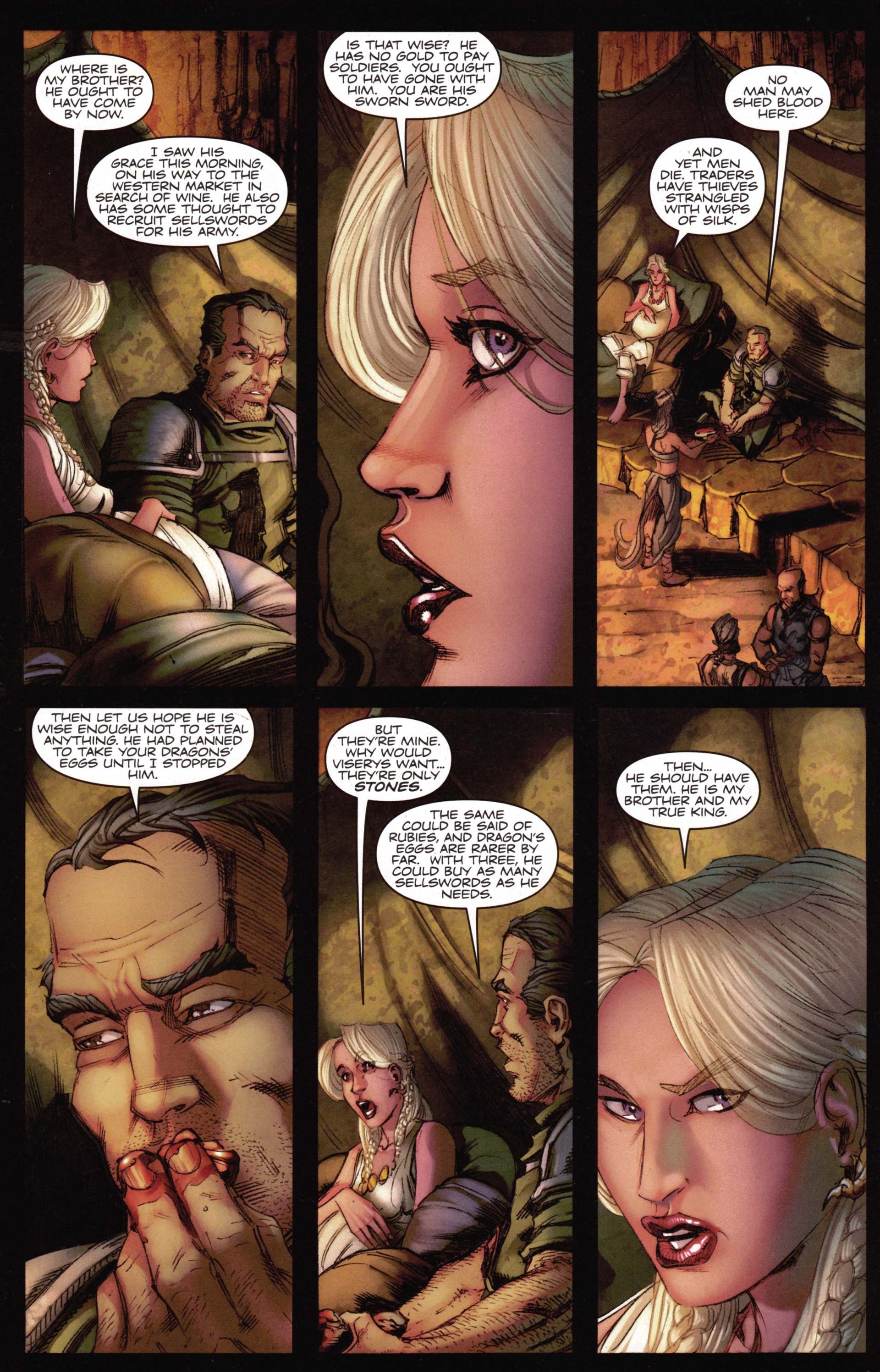 Read online A Game Of Thrones comic -  Issue #15 - 26