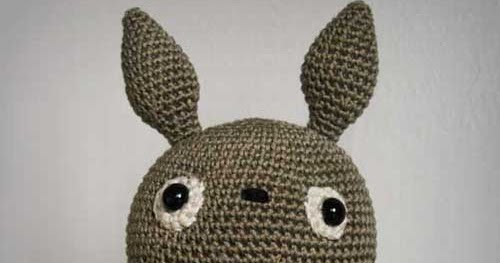 Ravelry: Blue Totoro Amigurumi pattern by Lucy Collin | 263x500