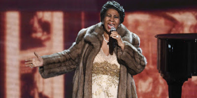 Aretha Franklin Honors Carole King