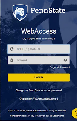 Penn State Webmail login with Email id and password