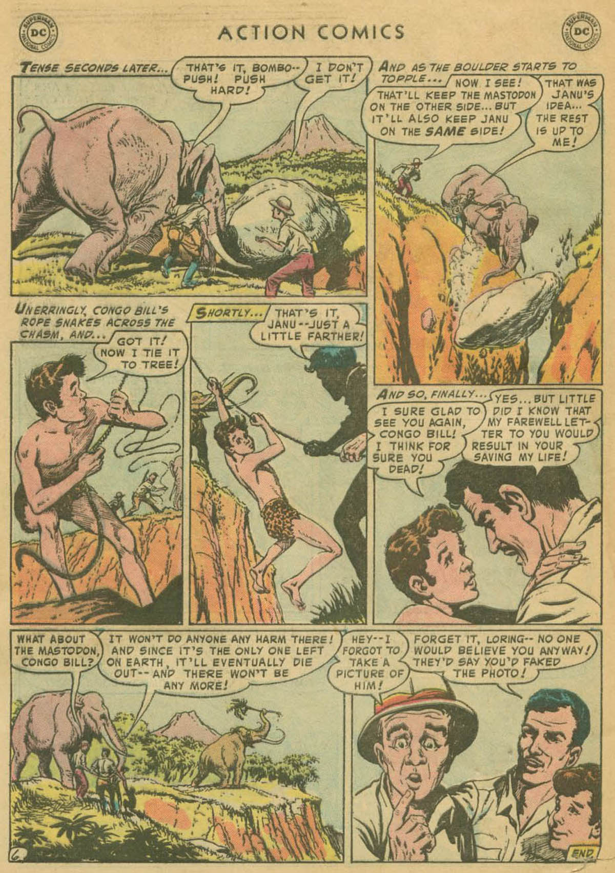 Read online Action Comics (1938) comic -  Issue #208 - 31