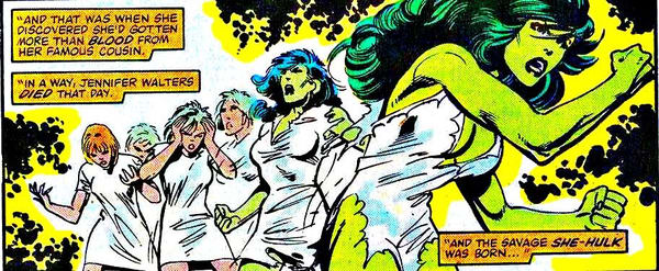 siapa she hulk adalah asal-usul she hulk