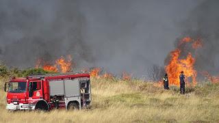 ΠΡΟΣΟΧΗ: Πολύ υψηλός κίνδυνος πυρκαγιάς και σήμερα στην Λέσβο [ΧΑΡΤΗΣ]