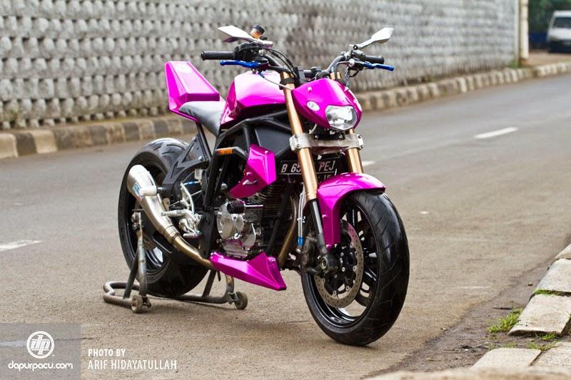 Alamat Bengkel Modifikasi Motor Yamaha Vixion