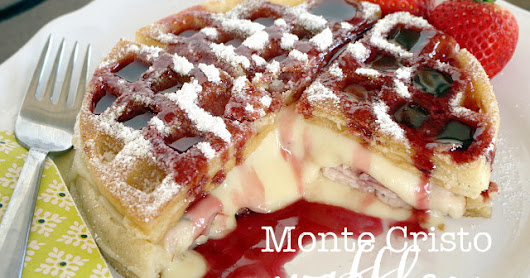 Breakfast Night with Monte Cristo Waffles