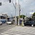 Exército faz patrulhamento na avenida Bernardo Vieira no bairro Quintas