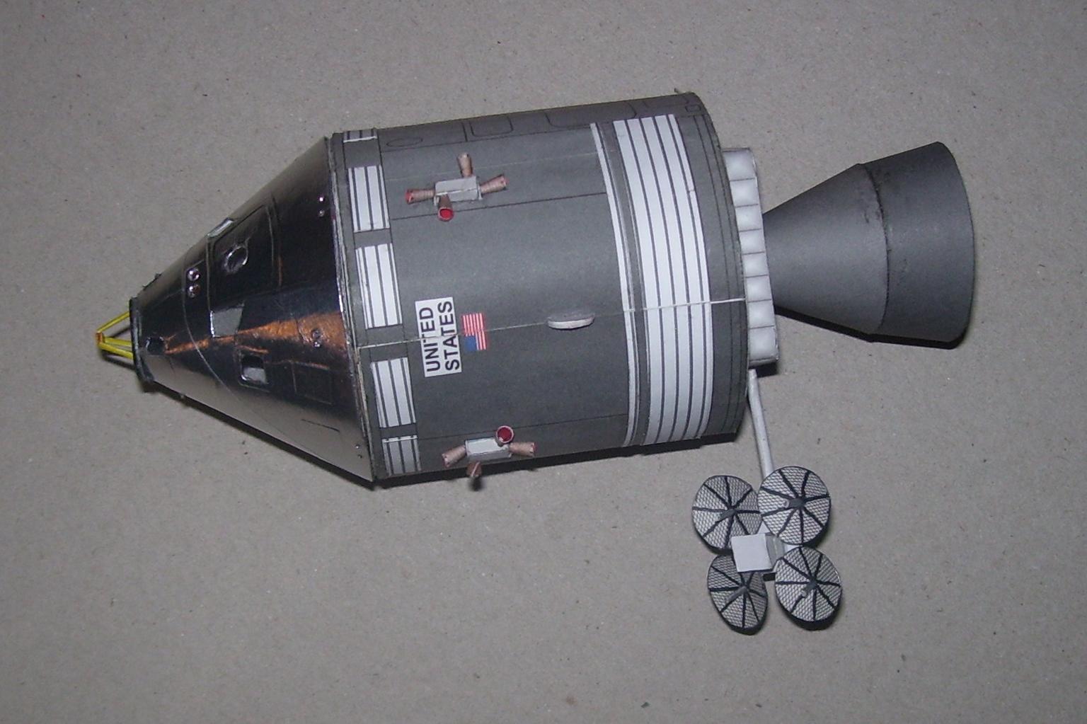 apollo spacecraft paper model - photo #30