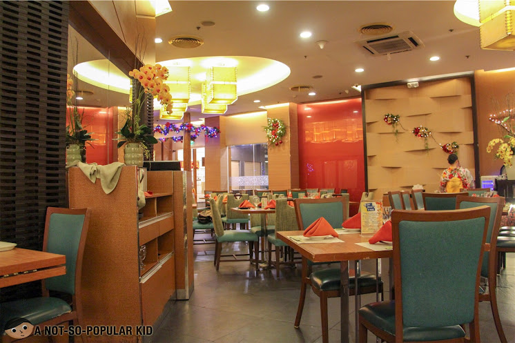 Interior of Kimpura Restaurant in Greenbelt, Makati