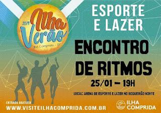 Espaço Verão Esporte e Lazer promove Encontro de Ritmos,Torneio de Beach Tênnis e Slackline no final de semana