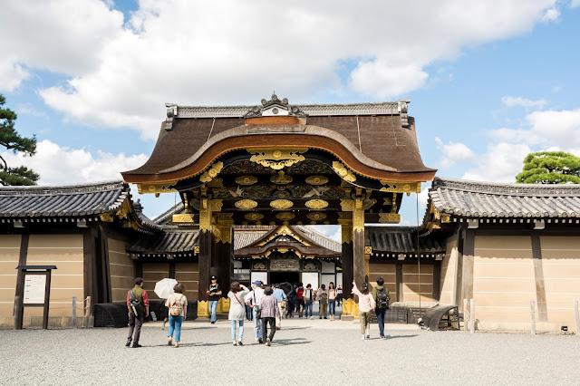 Japonsko, Japan, Kjoto, Kjóto, Nijo, Kyoto