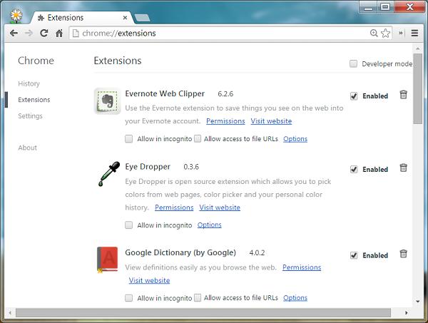 如何在Google Chrome中安装第三方扩展(Extension) | REET'S BLOG