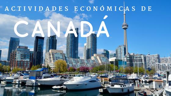 Actividades económicas de Canadá
