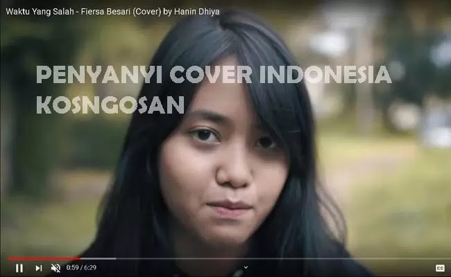 penyanyi cover indonesia