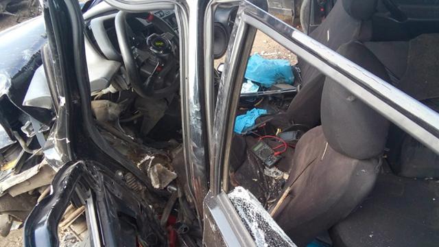 В Башкирии мужчина угнал машину и попал на ней в аварию