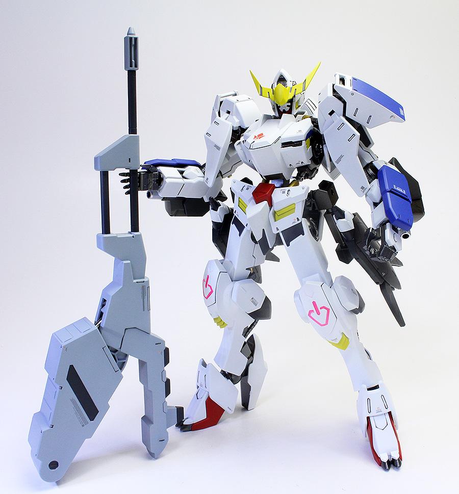 GUNDAM GUY: 1/100 Gundam Barbatos 6th Form - Painted Build