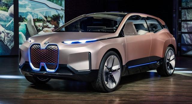 Autonomous, BMW, BMW Concepts, Concepts, Electric Vehicles, LA Auto Show