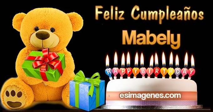Feliz Cumpleaños Mabely