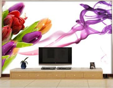3D wallpaper for walls of living room interior designs 3D murals images (3)