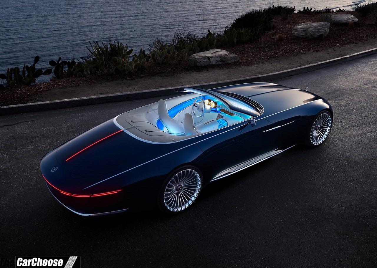 2017-2018 Mercedes-Benz Vision Maybach 6 Cabriolet Concept ...