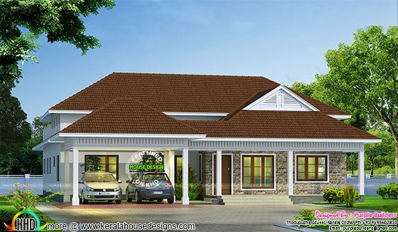 4 bedroom single floor bungalow