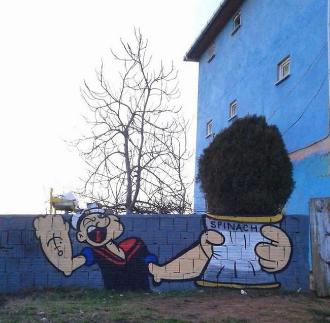 Incríveis artes de rua