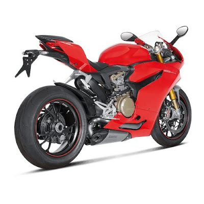 Ducati 899 Panigale Red Edition Right side rear image