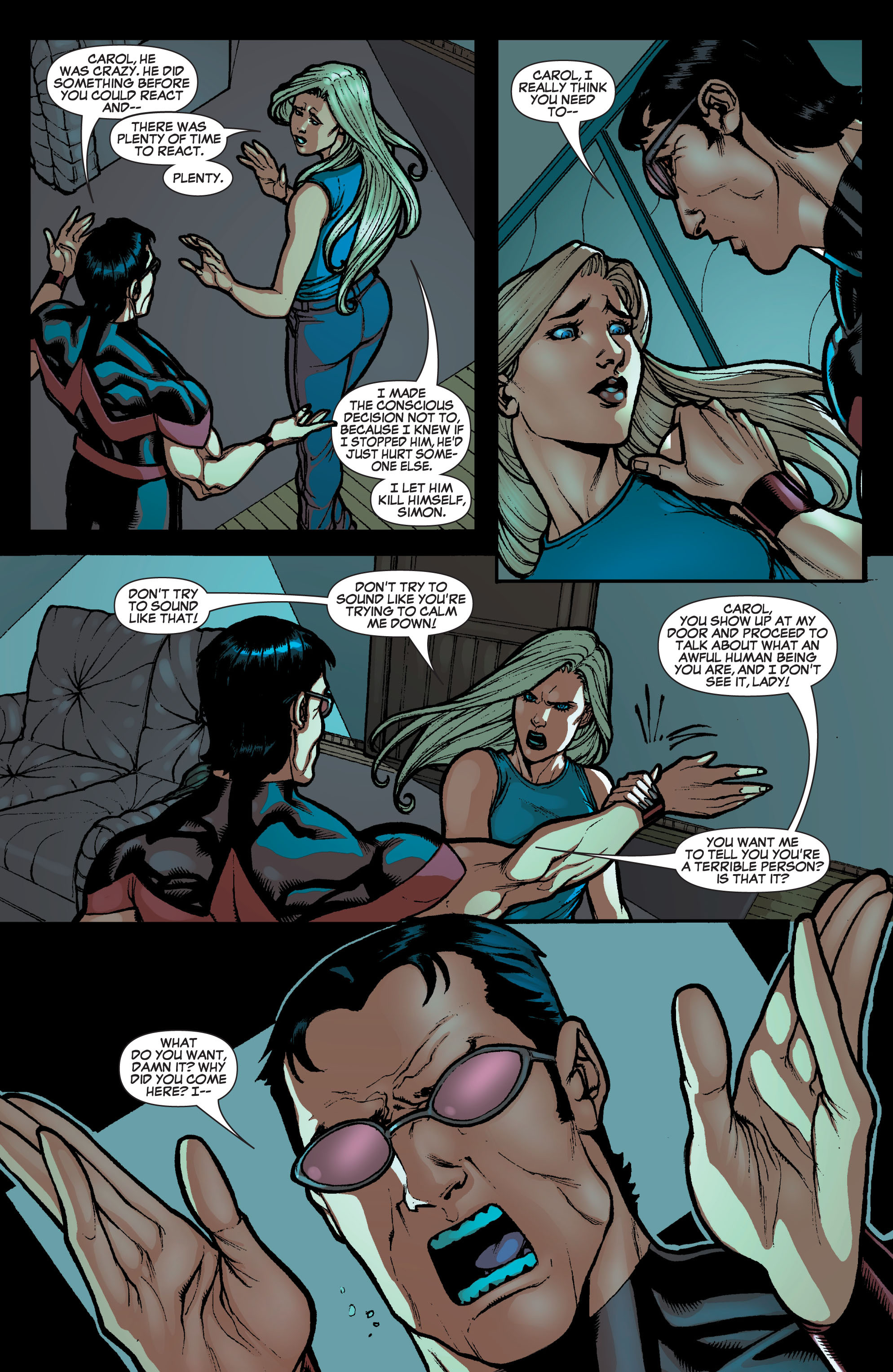 Read online Secret Invasion: The Infiltration comic -  Issue #10 - 20