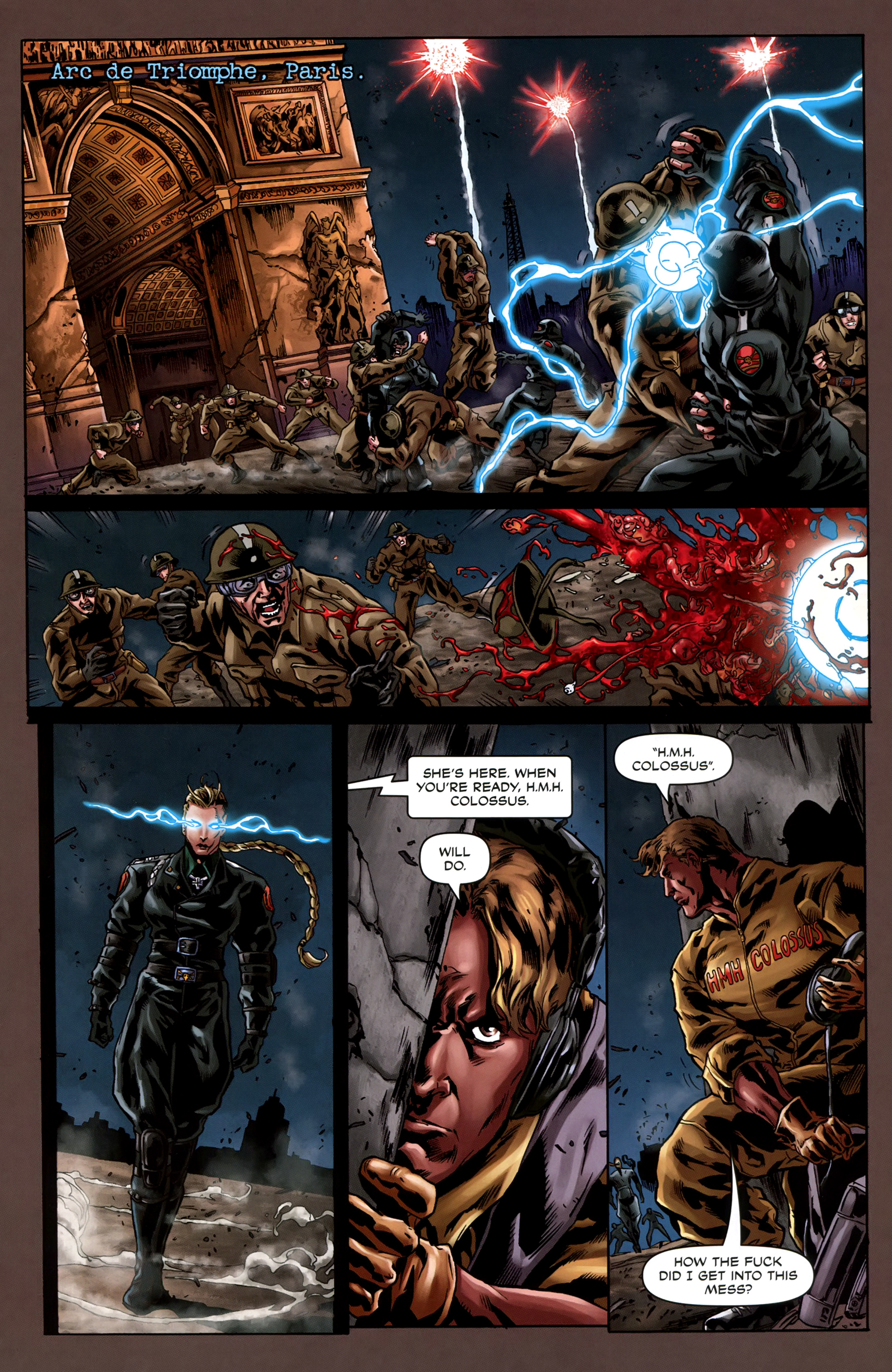 Read online Uber comic -  Issue #5 - 16