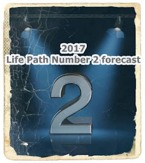 2017 Life Path Number 2 love luck forecast