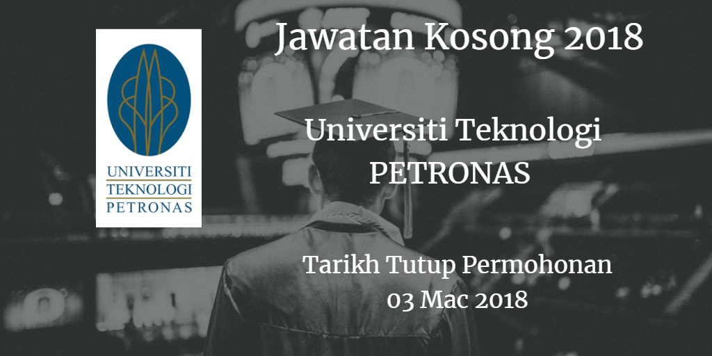 Jawatan Kosong UTP 03 Mac 2018