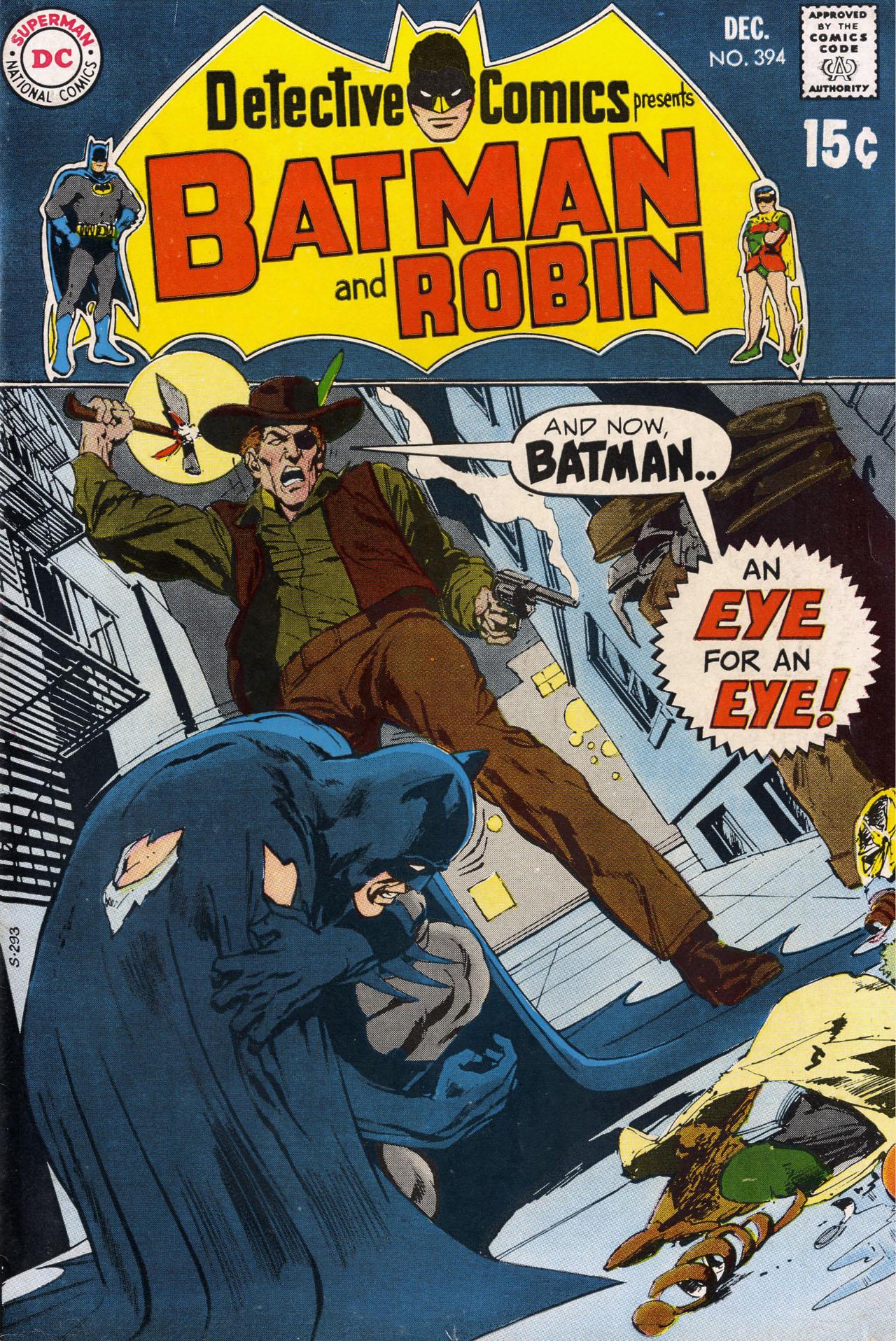 Detective Comics (1937) 394 Page 0