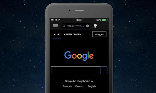 Google, Mode Gelap Smartphone Android Akan Perpanjang Masa Pakai Baterai