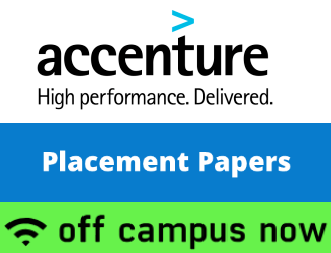 Accenture Previous Placement Papers PDF