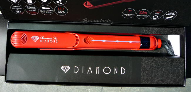 Review of Irresistible Me Diamond Professional Styling flat iron