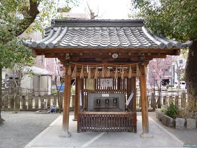 神津神社手水舎