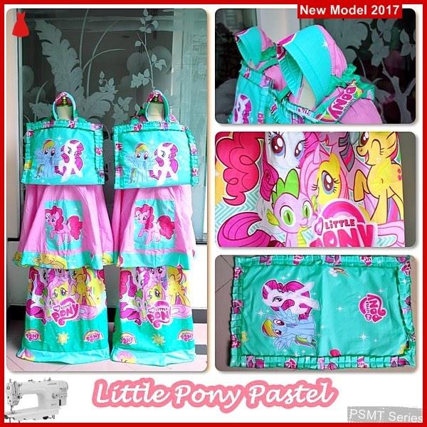 PSMT176A Mukena Untuk Anak Little 2 Pastel BMGShop