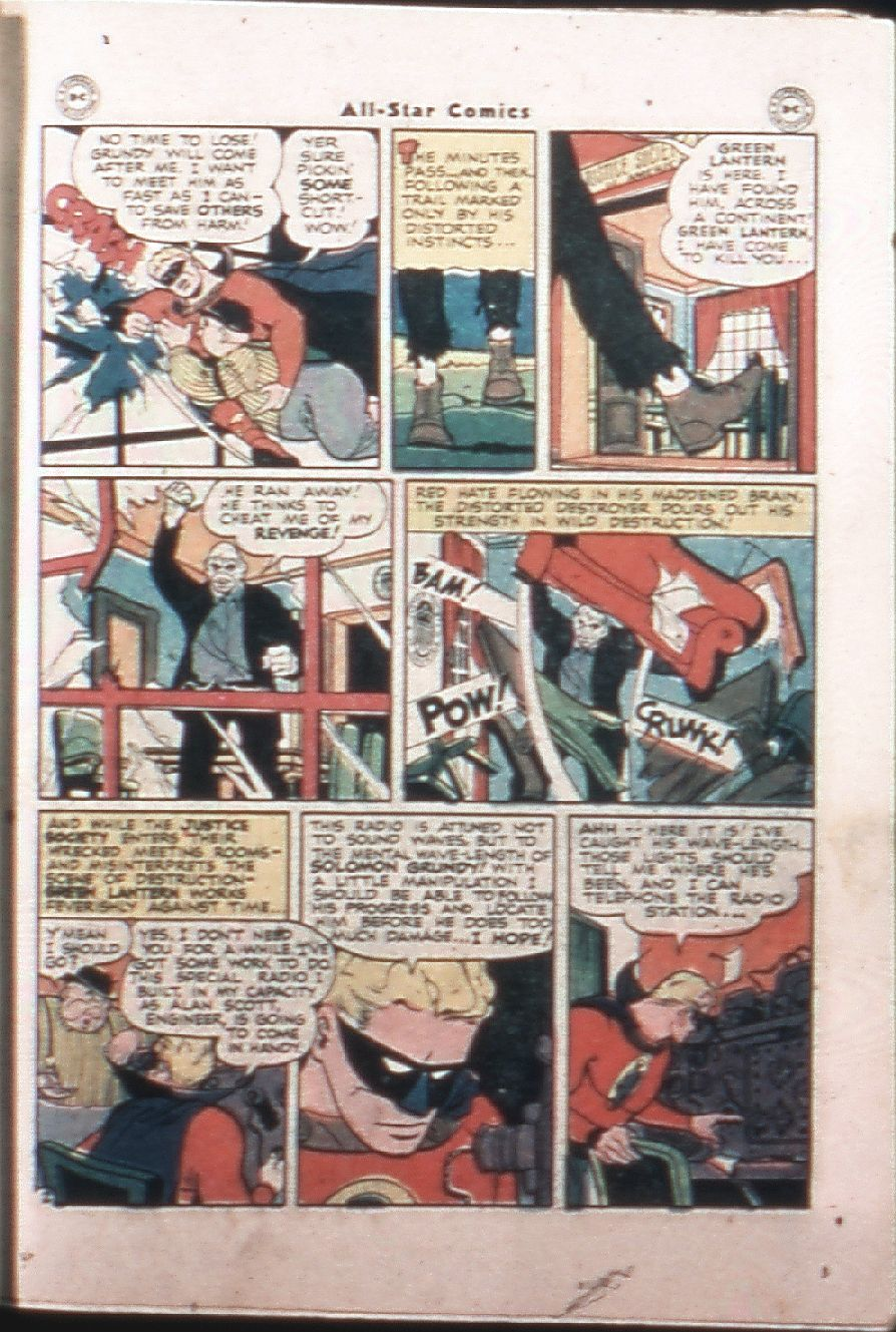 Read online All-Star Comics comic -  Issue #33 - 35