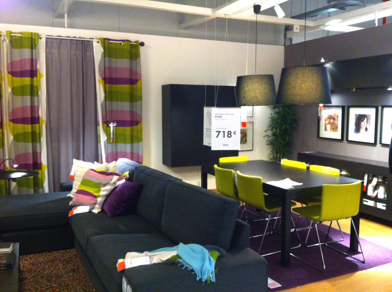 Bricolage e decora o ikea sala decorada com m veis for Mobilia webmail