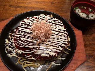 Japanese-style pancake