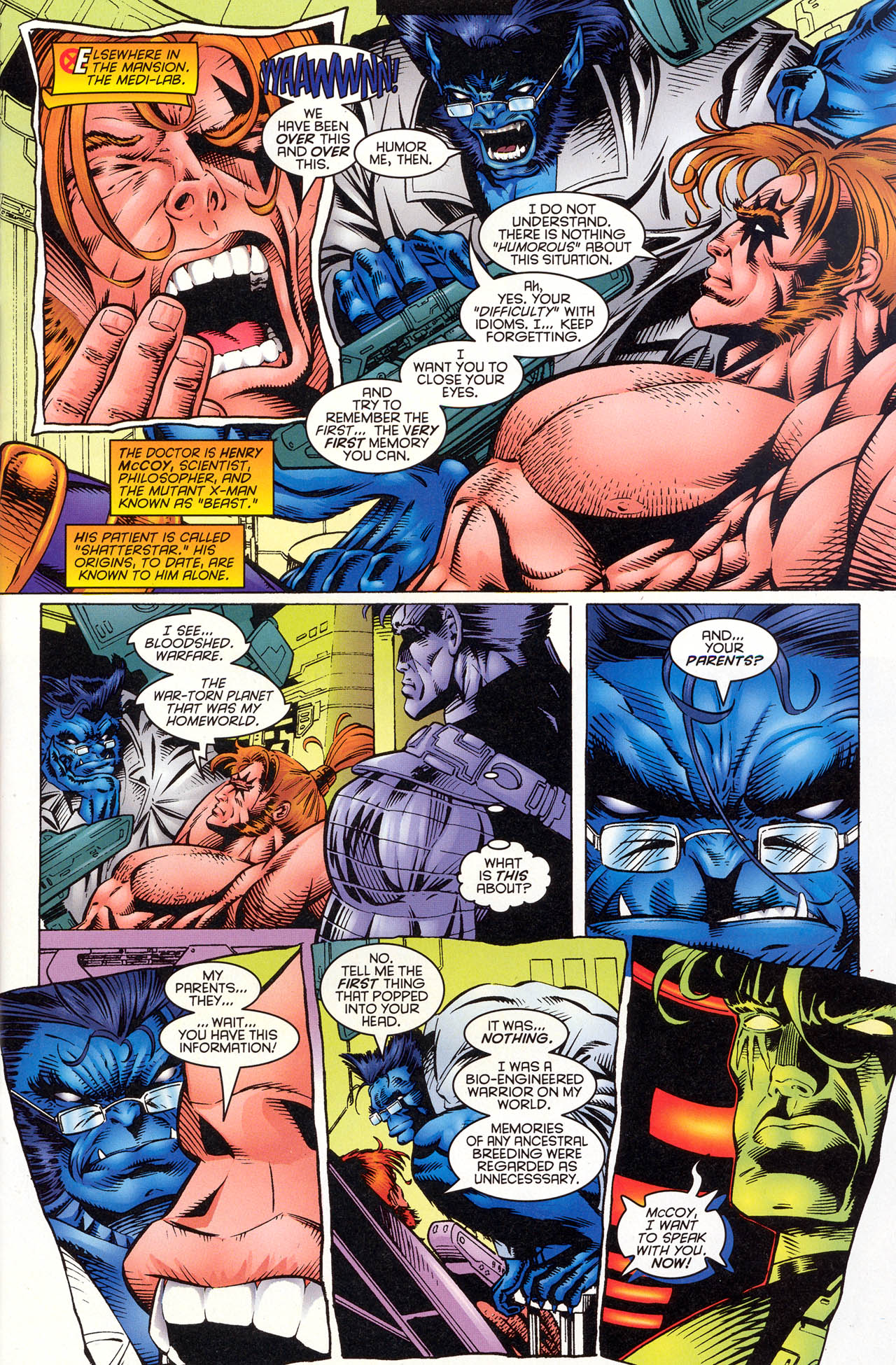 Read online X-Force (1991) comic -  Issue #51 - 8