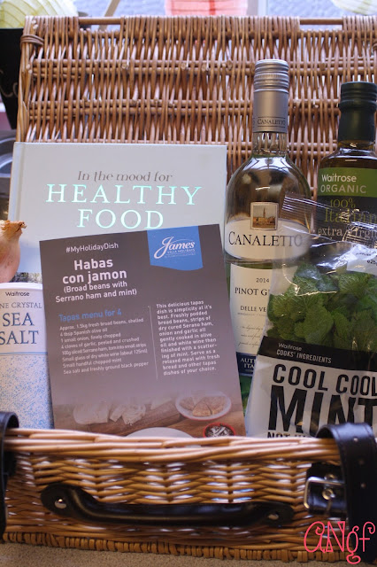 Ingredients for a gluten free tapas dish from Jo Pratt | Anyonita-nibbles.co.uk