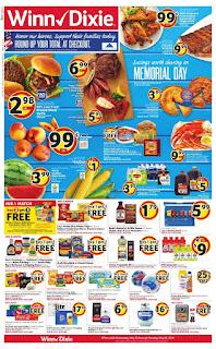 ⭐ Winn Dixie Ad 5/22/19 ✅ Winn Dixie Weekly Ad May 22 2019