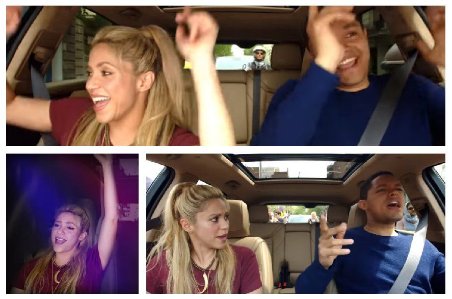 Shakira canta nel primo Carpool Karaoke in Spagna | Video Apple Music
