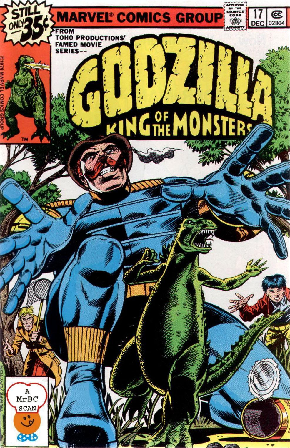 Godzilla (1977) Issue #17 #17 - English 1
