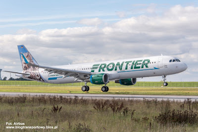 Airbus A321-211(WL), N701FR, Frontier Airlines