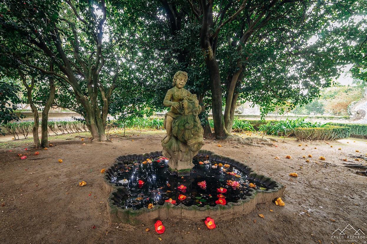 Jardim do Museu dos Biscaínhos, Braga