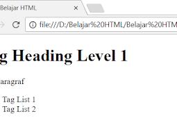 Perbedaan Tag Bertipe Block Element Dengan Inline Element Dalam HTML