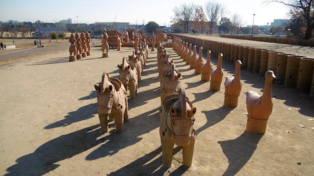 今城塚古墳 埴輪祭祀場